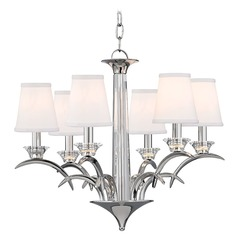 Hudson Valley Lighting Marcellus Polished Nickel Chandelier