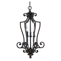 Craftmade Josephine Antique Bronze, Gold Accents Pendant Light