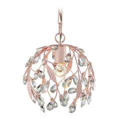 Elk Lighting Circeo Light Pink Mini-Pendant Light
