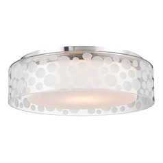 Hudson Valley Lighting Carter Satin Aluminum LED Flushmount Light