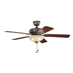 Kichler Lighting Sutter Place Select Olde Bronze Ceiling Fan with Light