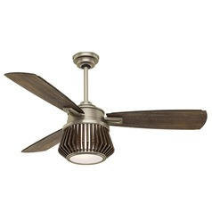 Casablanca Fan Co Glen Arbor Metallic Birch LED Ceiling Fan with Light