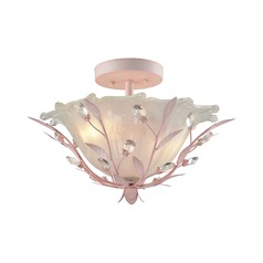 Elk Lighting Circeo Light Pink Semi-Flushmount Light