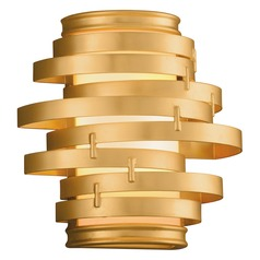 Corbett Lighting Vertigo Gold Leaf LED Sconce