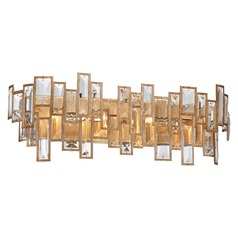 Metropolitan Bel Mondo Luxor Gold Bathroom Light