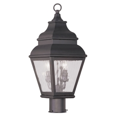Livex Lighting Exeter Bronze Post Light