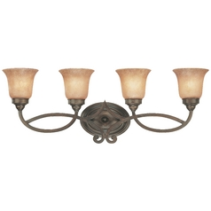 Dolan Designs Lighting Four-Light Bathroom Light 3104-133