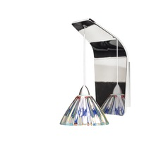WAC Lighting Eden Chrome LED Sconce