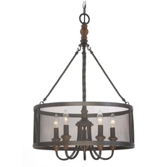 Quoizel Lighting Odell Imperial Bronze Pendant Light