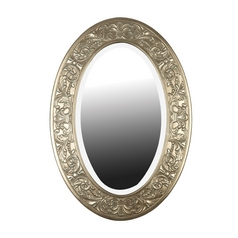 Argento Oval 28-Inch Mirror