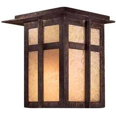 Minka Lighting 7-1/4-Inch Outdoor Wall Light 71197-A357-PL