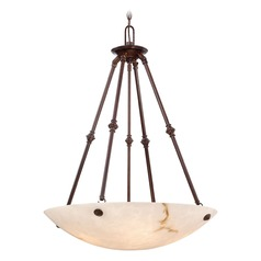Metropolitan Virtuoso 11 Bronze Patina Pendant Light