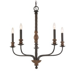 Quoizel Lighting Odell Imperial Bronze Chandelier