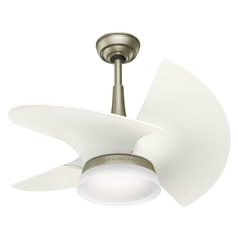 Casablanca Fan Co Orchid Pewter LED Ceiling Fan with Light