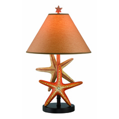 Lite Source Starfish Table Lamp with Empire Shade