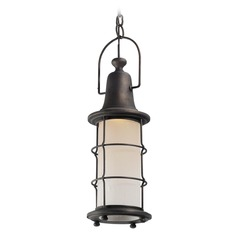 Troy Lighting Maritime Vintage Bronze LED Outdoor Hanging Light