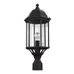 Sea Gull Lighting Sevier Black Post Light