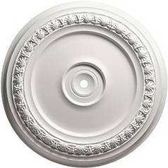 Decorative Ceiling Medallion - 18-1/2-Inches Wide