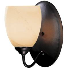 Single-Light Halogen Sconce