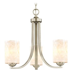 Design Classics Dalton Fuse Satin Nickel Mini-Chandelier