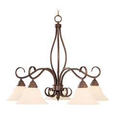 Savoy House Sunset Bronze Chandelier