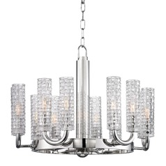 Hudson Valley Lighting Dartmouth Polished Nickel Chandelier