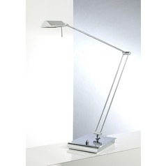 Holtkoetter Lighting Bernie Series Chrome Swing Arm Lamp