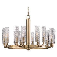 Hudson Valley Lighting Dartmouth Aged Brass Chandelier