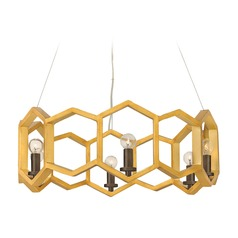 Frederick Ramond Moxie Sunset Gold Pendant Light