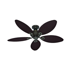 Hunter Fan Company Bayview Provencal Gold Ceiling Fan Without Light