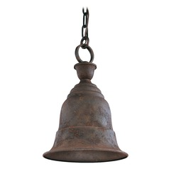 Troy Lighting Outdoor Hanging Light in Cenntinial Rust Finish F2367CR