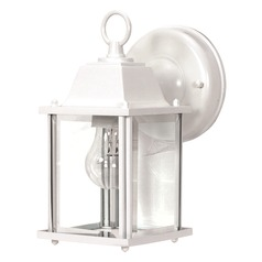 Nuvo Lighting White Outdoor Wall Light