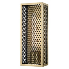 Brookline ADA 1 Light Sconce - Aged Brass