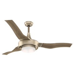 Casablanca Fan Co Perseus Metallic Sunsand LED Ceiling Fan with Light