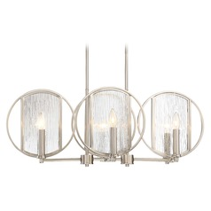 Minka Lavery Via Capri Brushed Nickel Island Light