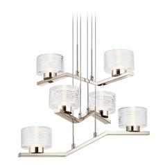 Kichler Lighting Lasus Polished Nickel LED Chandelier 3000K 2375LM