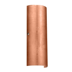 Sconce Wall Light Copper Glass Satin Nickel by Besa Lighting