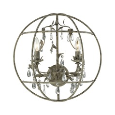 Elk Lighting Bridget Marble Gray Sconce