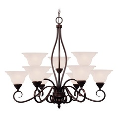 Savoy House English Bronze Chandelier