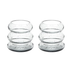 Smoke Ring Votive - Set Of 2