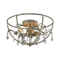 Elk Lighting Bridget Marble Gray Semi-Flushmount Light