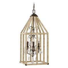 Frederick Ramond Emilie Iron Rust Pendant Light