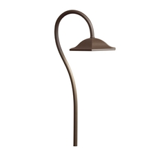 Kichler Lighting Kichler Lighting Landscape LED Textured Architectural Bronze LED Path Light 15807AZT27