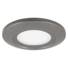 Progress Lighting LED Flush Mount Metallic Gray LED Flushmount Light