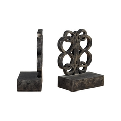 Decorative Bronze Bookends