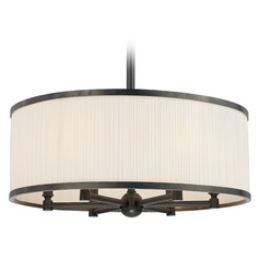 Mid-Century Modern Pendant Light Bronze Hastings by Hudson Valley Lighting