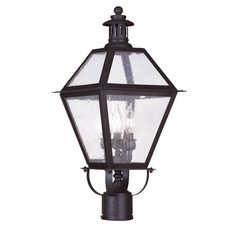 Livex Lighting Waldwick Bronze Post Light
