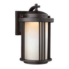 Sea Gull Crowell Antique Bronze LED Outdoor Wall Light