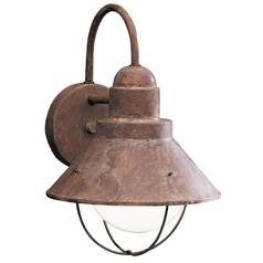 Kichler Lighting Outdoor Wall Light in Olde Brick Finish 9022OB