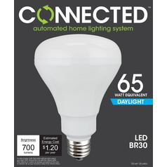 TCP Connected LED 5000K BR30 Light Bulb -65W Equivalent
